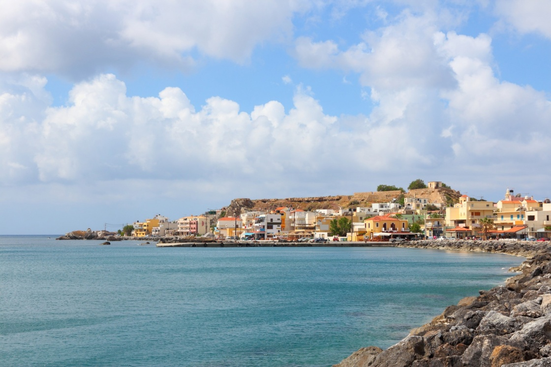 'Chania, town on Crete island in Greece. Old town of Paleochora (or Palaiochora).' - Χανιά