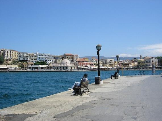 'Chania - harbour' - Χανιά